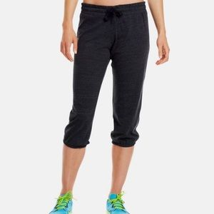 Under Armour Grey Charged Heat Gear Lounge Capris